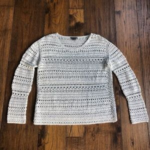 THEORY Cable Knit Sweater. Size Small